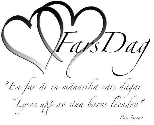 Helg/Fars Dag erbjudande